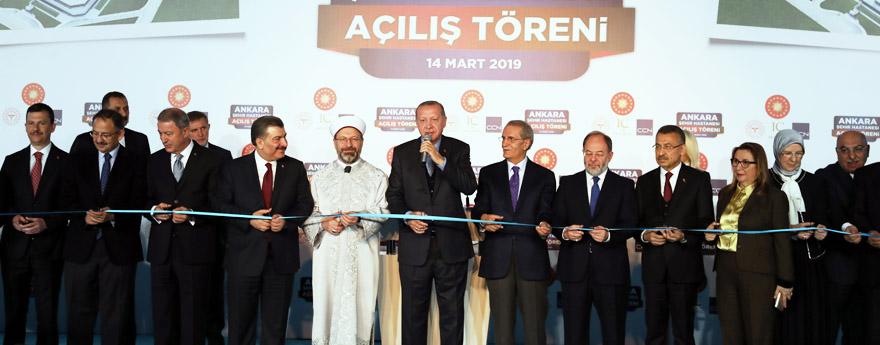 Avrupa'nın En Büyüğü Ankara Şehir Hastanesi'nin Açılışı Yapıldı