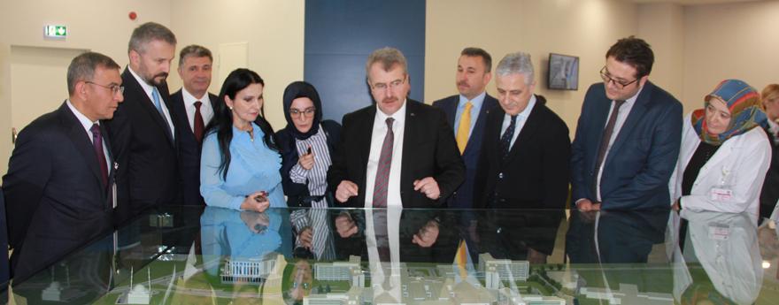 Romanya Sağlık Bakanı Ankara Şehir Hastanesini Ziyaret Etti
