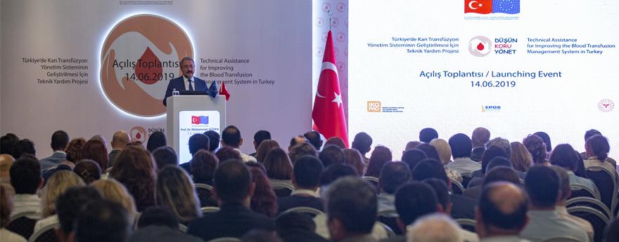 Bakan Yardımcısı Güven, Kan Nakil Yönetim Sisteminin Geliştirilmesine Yönelik Projenin Açılış Toplantısına Katıldı