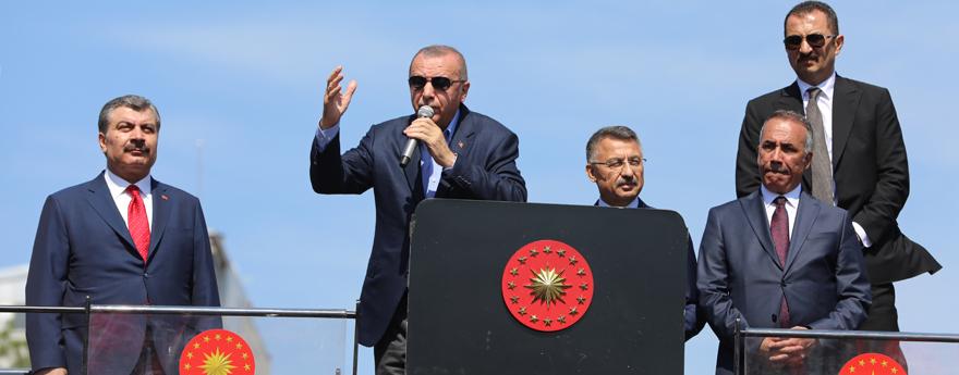 Cumhurbaşkanı Erdoğan, Toplu Açılış Töreninde Vatandaşlara Hitap Etti