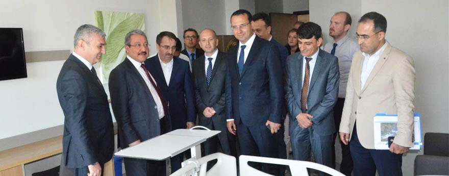Bursa City Hospital to admit patients