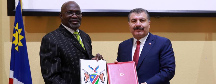 Türkiye - Namibya Karma Ticaret ve Ekonomi Komitesinin İlk Toplantısı Windhoek'te Yapıldı