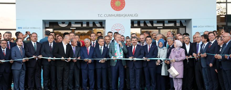 Cumhurbaşkanı Erdoğan, Bursa Şehir Hastanesi'nin Açılışını Gerçekleştirdi