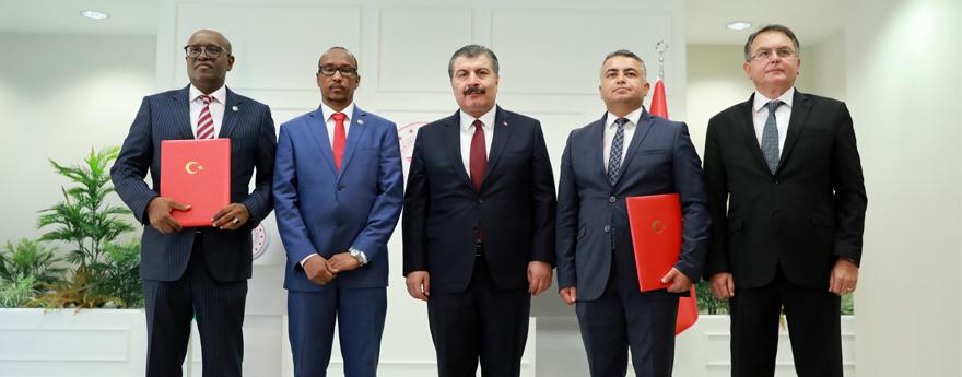 USHAŞ ile Cibuti Hükümeti Arasında İş Birliği Protokolü İmzalandı