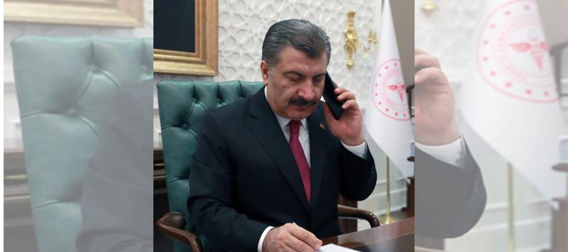 Sağlık Bakanı Koca, Kazakistan, Özbekistan ve Azerbaycan Sağlık Bakanlarıyla Görüştü