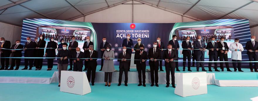 Konya Şehir Hastanesi Hizmete Açıldı